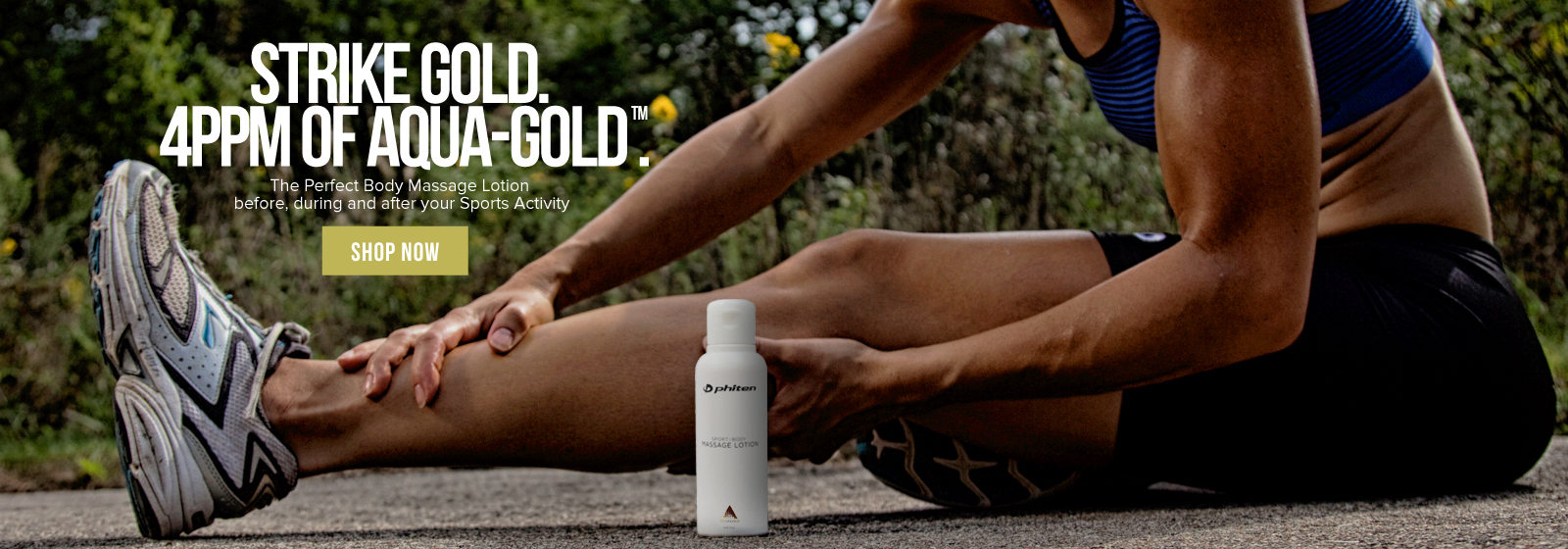 Aqua-Gold Sport Body Massage Lotion